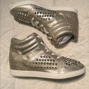 Jessica Simpson Shoes - Jessica Simpson Trebble Studded High Top Sneakers